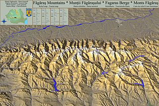 Făgăraș Mountains Mountain range in Romania