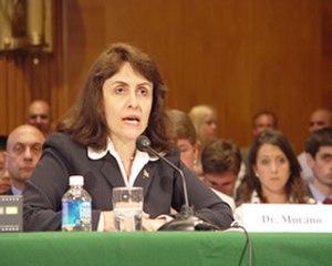 Elsa Murano - Murano testifying at a Senate hearing in 2006.