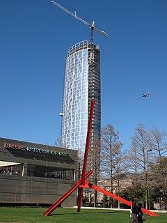 Museum Tower (Dallas) high-rise luxury apartment building in Dallas, Texas