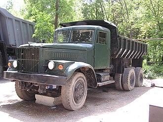 Automotive industry in Ukraine - KrAZ-256B (1966-1994)