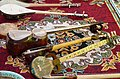 Musical instruments Rubabs and Dutars in Tajikistan.JPG
