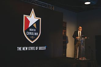 North Carolina FC - North Carolina FC Owner Steve Malik announces The New State of Soccer on December 6, 2016