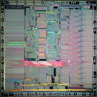 NCUBE - Die of nCUBE 2 processor