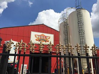 New Orleans Lager and Ale Brewing Company - The brewery in 2015