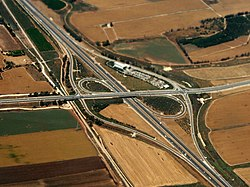 Nachshonim interchange 2012.jpg