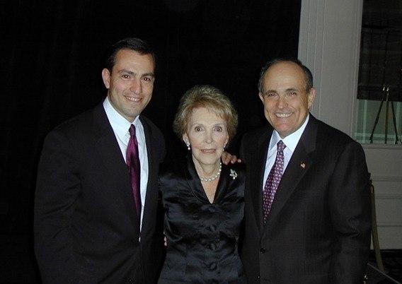 Nancy Reagan Rudy Giuliani Vito Fossella