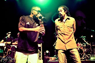 Damian Marley - Nas and Marley performing in Wellington, New Zealand, 2011