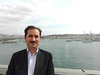 Nasir Abbas Nayyar - Nasir Abbas in Istanbul