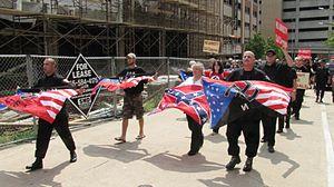 Members of the Detroit-based National Socialis...