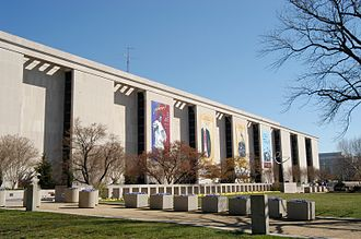 National Museum of American History - The south facade of the museum