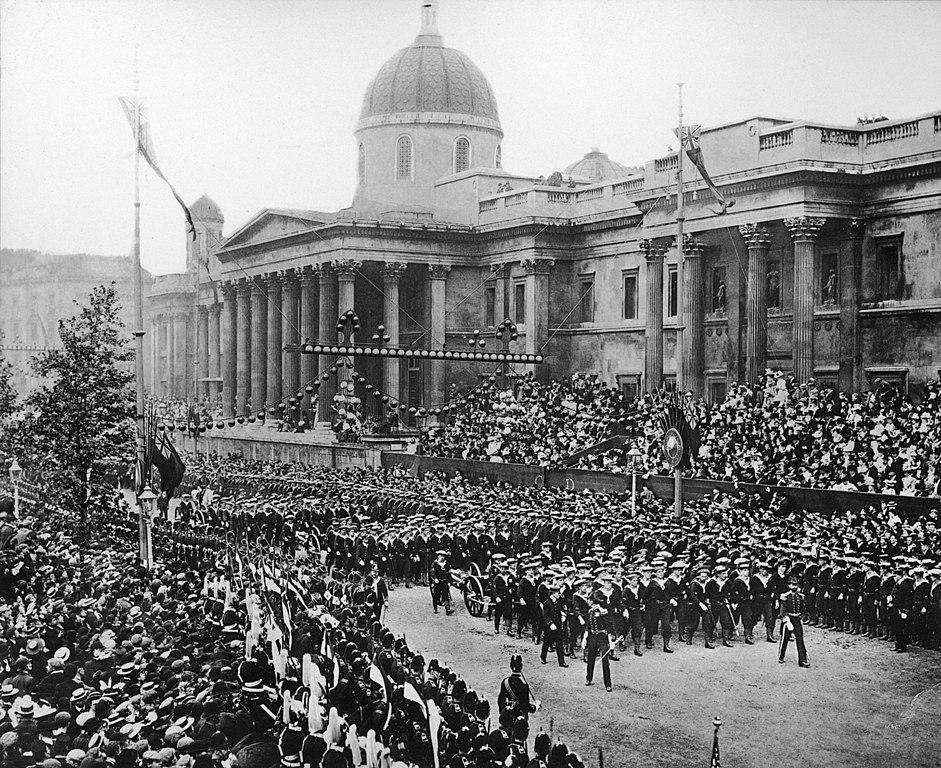 File:Naval Gun Detachment at the Diamond Jubilee of Queen Victoria ...