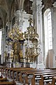 Nave and pulpit - St. Peter - Mainz - Germany 2017.jpg