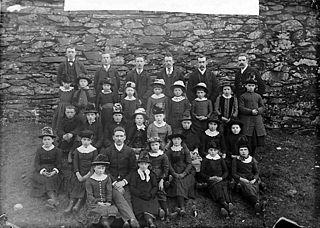 Nazareth (CM) children's choir, Penrhyndeudraeth (1888)