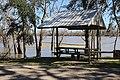 Neal Landing picnic table next to river.jpg