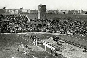 Old Stadion (Amsterdam) - Image: Nederland—Frankrijk 2 april 1923