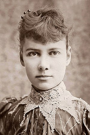 English: Nellie Bly. Pseudonym of Elizabeth Co...