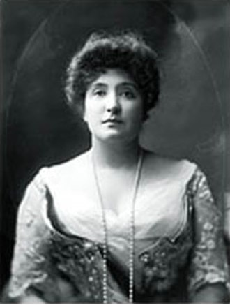 National War Memorial (South Australia) - Portrait of Dame Nellie Melba GBE by Henry Walter Barnett. She proposed building a carillon of bells as the new memorial.
