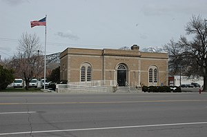 Juab County, Utah - Image: Nephi Utah post office