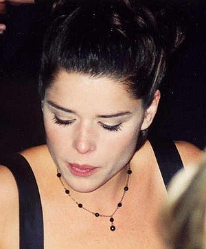 Neve Campbell - Campbell at the Emmy Awards in 1997