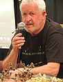 Neville Bonney discusses collecting native plant seeds, Adelaide 2015.jpg