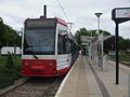 New Addington tramstop look south.JPG