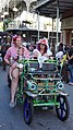 New Orleans Gay Easter Parade in the French Quarter 1 April 2018 Three Generations.jpg