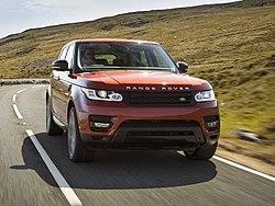 New Range Rover Sport Chile Red (9552430077) (cropped).jpg