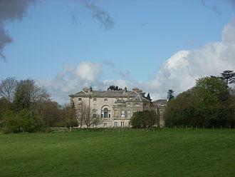 New Wardour Castle - New Wardour Castle, near Tisbury, Wiltshire, UK.
