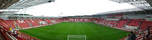 New York Stadium - Rotherham Vs Barnsley - First ever game at the New York Stadium 21/7/12