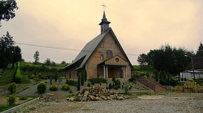 New construction of the church in Jankowce..JPG