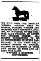 Newspaper advertisement for Club Stables, Los Angeles, California, 1907.png
