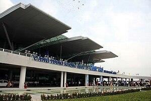 Can Tho International Airport - Image: Nha Ga HK CHKQT Can Tho 2
