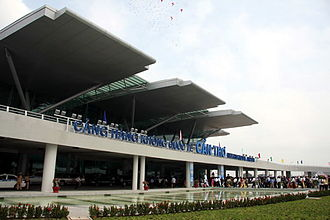 Can Tho International Airport - Image: Nha Ga HK CHKQT Can Tho 2
