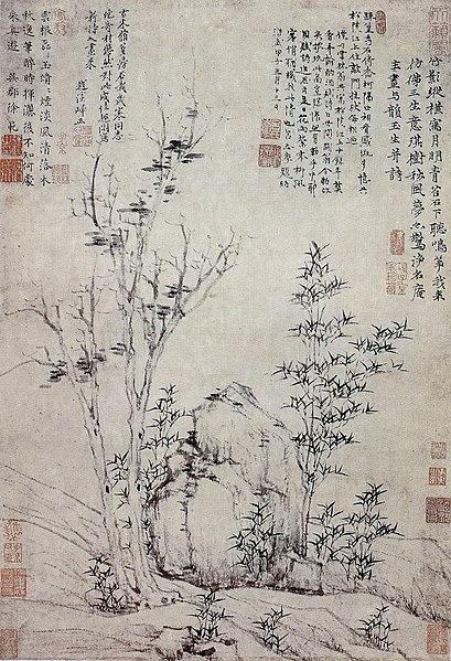 File:Ni Zan Autumn Wind in Gemstones Trees.jpg