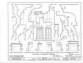 Nicholas Van Dyke Jr. House, 400 Delaware Street, New Castle, New Castle County, DE HABS DEL,2-NEWCA,11- (sheet 7 of 8).png