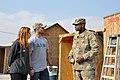Nick and JoAnna Swisher visit FOB Shank DVIDS492101.jpg