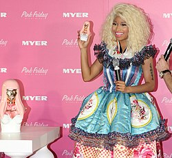 Nicki Minaj at Sydney's Pink Friday promotion.jpg