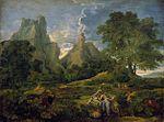 Nicolas Poussin - Landscape with Polyphemus - WGA18316