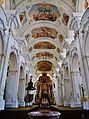 Niederaltaich Klosterbasilika St. Nikolaus Innen 2.JPG