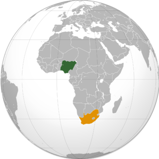 Diplomatic relations between the Federal Republic of Nigeria and the Republic of South Africa