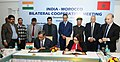 Nitin Gadkari and the Minister of Equipment, Transport, Logistic and Water, Kingdom of Morocco (2).jpg