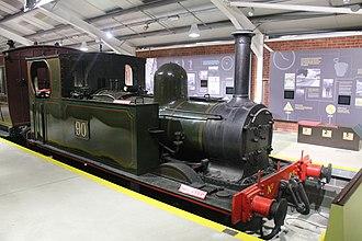 Downpatrick and County Down Railway - Image: No. 90, Downpatrick