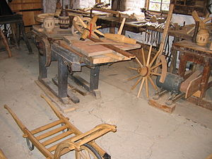 Wainwright - A wainwright's workshop