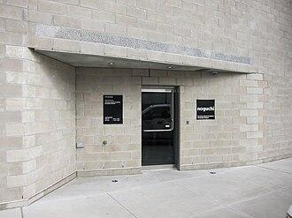 Isamu Noguchi - Entrance to Noguchi Museum, New York City