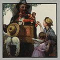 Norman Rockwell - The organ grinder (1920).jpg