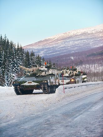 Combat Vehicle 90 (CV90) - Estonia has purchased 79 CV90s from Norway and the Netherlands
