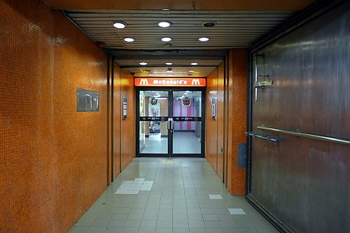 MTR North Point station Exit B2 to McDonald's