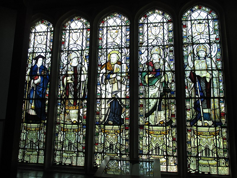File:North chapel north window, Henfield.jpg