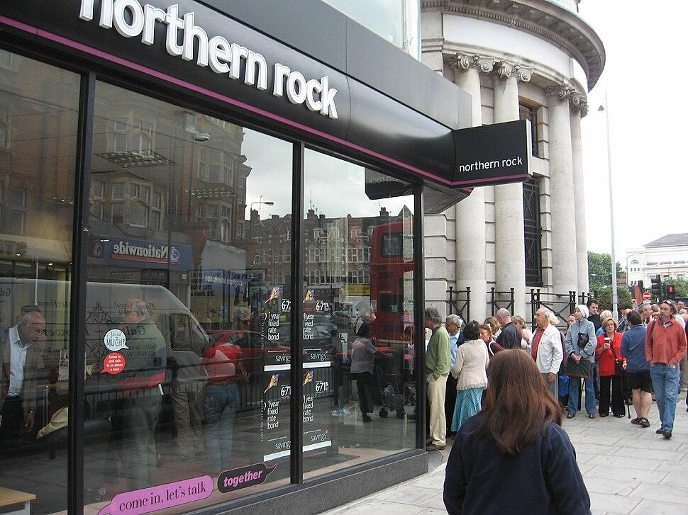 Northern Rock Customers, September 14, 2007