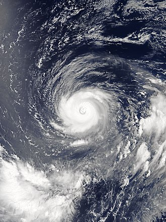 Annular tropical cyclone - Typhoon Noru of 2017, displaying all annular characteristics